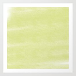 Chalky background - yellow Art Print