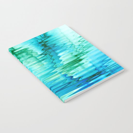 Water Ripples Abstract Notebook