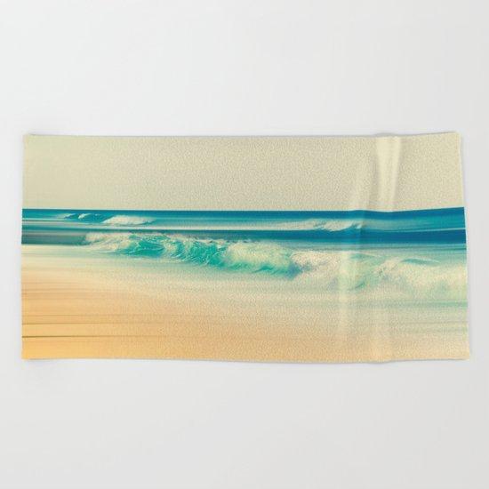 emerald surf Beach Towel