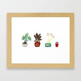 Home Garden Framed Art Print