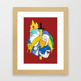 Time for adventures!! Framed Art Print
