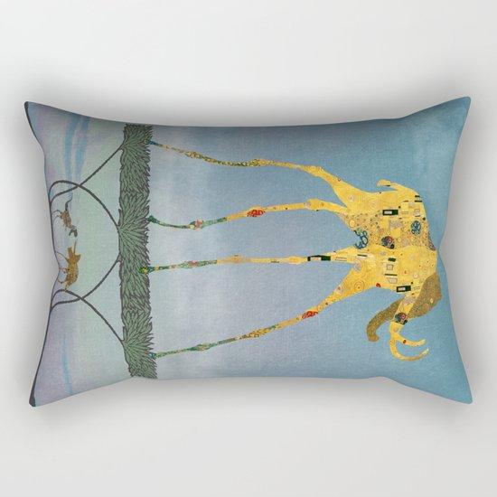 Dalimt Prehistoric Fantasy Rectangular Pillow