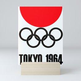 Vintage Japanese Poster  - Tokyo 1964 Mini Art Print