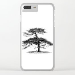 Big tree Clear iPhone Case