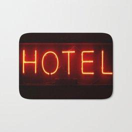 Th Neon Hotel Bath Mat