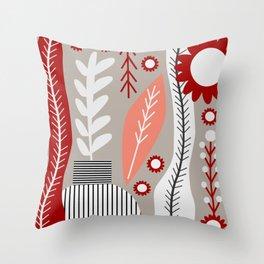 Floral spot Throw Pillow