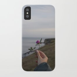 Flower in Seaham, United Kingdom iPhone Case