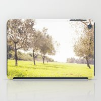 israel iPad Cases featuring Olive trees heaven - Israel by Flame Leviosa