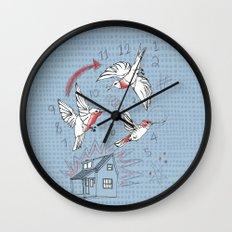 Cuckoo clocking Wall Clock