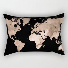 Design 97 world map Rectangular Pillow