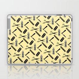 Barber Shop Pattern Laptop & iPad Skin