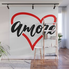 Valentine Amore T shir Wall Mural