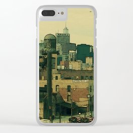 City of the Big Shoulders Clear iPhone Case
