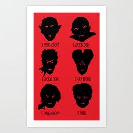 Bloody Truth Art Print