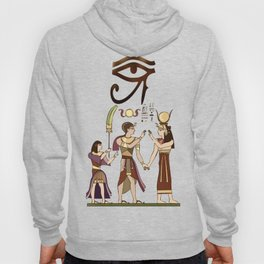 Calling to the Gods Egyptian Folk Art Hoody