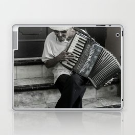 Music on the steps Laptop & iPad Skin