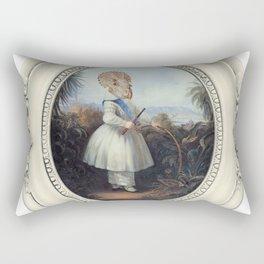 Framed Toddler Trike Rectangular Pillow