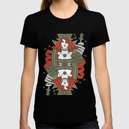 SINS Mentis - Greed Queen of Diamonds T-shirt