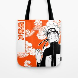 ninja anime orange Tote Bag