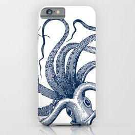 Octopus Navy iPhone Case
