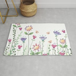 Wildflower Whimsy Rug
