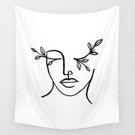 Beauty is in the eyes of the beholder Wall Tapestry