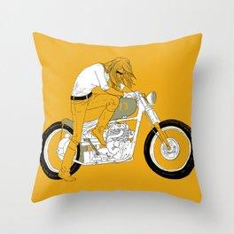 kick Throw Pillow