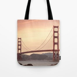 Golden Gate Bridge (San Francisco, CA) Tote Bag