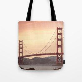 Golden Gate Bridge (San Francisco, CA) Tote Bag