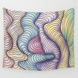 Wave Form Wall Tapestry