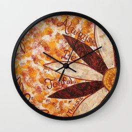 Always Be Joyfull Wall Clock