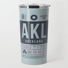 Luggage Tag B - Auckland New Zealand Travel Mug
