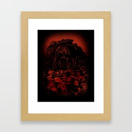 WOLFTHRONE Framed Art Print