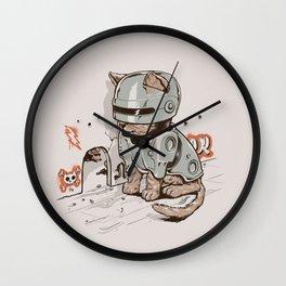 Robocat Wall Clock