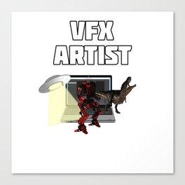 VFX Artst Canvas Print
