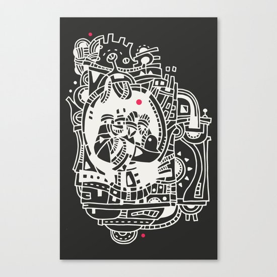 Puncho Canvas Print