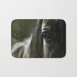 Arabian horse's eye Bath Mat