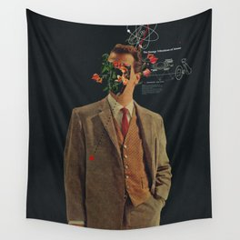 The Energy Vibrations Of Atoms Wall Tapestry
