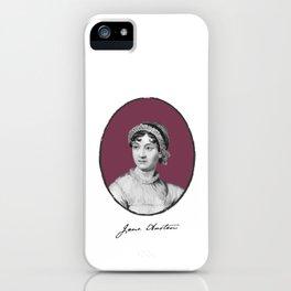 Authors - Jane Austen iPhone Case