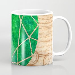 Magical Emerald - Illustration Gems Coffee Mug
