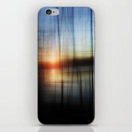 Sunset Blur iPhone Skin
