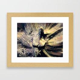 Torn apart Framed Art Print