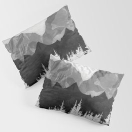 Layered Landscapes Pillow Sham