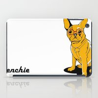 frenchie iPad Cases featuring Frenchie by andiroses