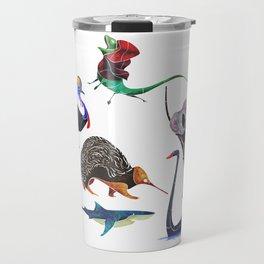 Australian animals Travel Mug