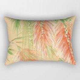 red weeping willow Rectangular Pillow