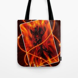 Fire and flames Tote Bag