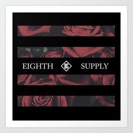 Eighth Rose Art Print