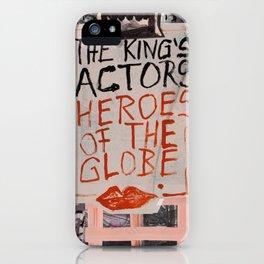 The Globe Kiss iPhone Case