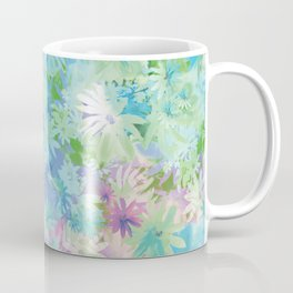 A bed of flowers. Coffee Mug